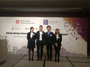 BSC-AIN Students Became the Finalists of Joint School Case Competition