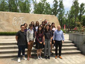 14名師生參加為期五天的上海教育文化之旅