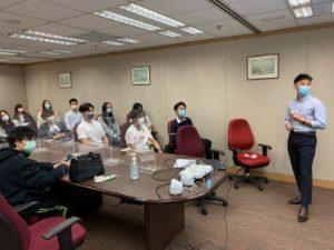 數據科學及商業智能學師生參觀香 港政府統計處